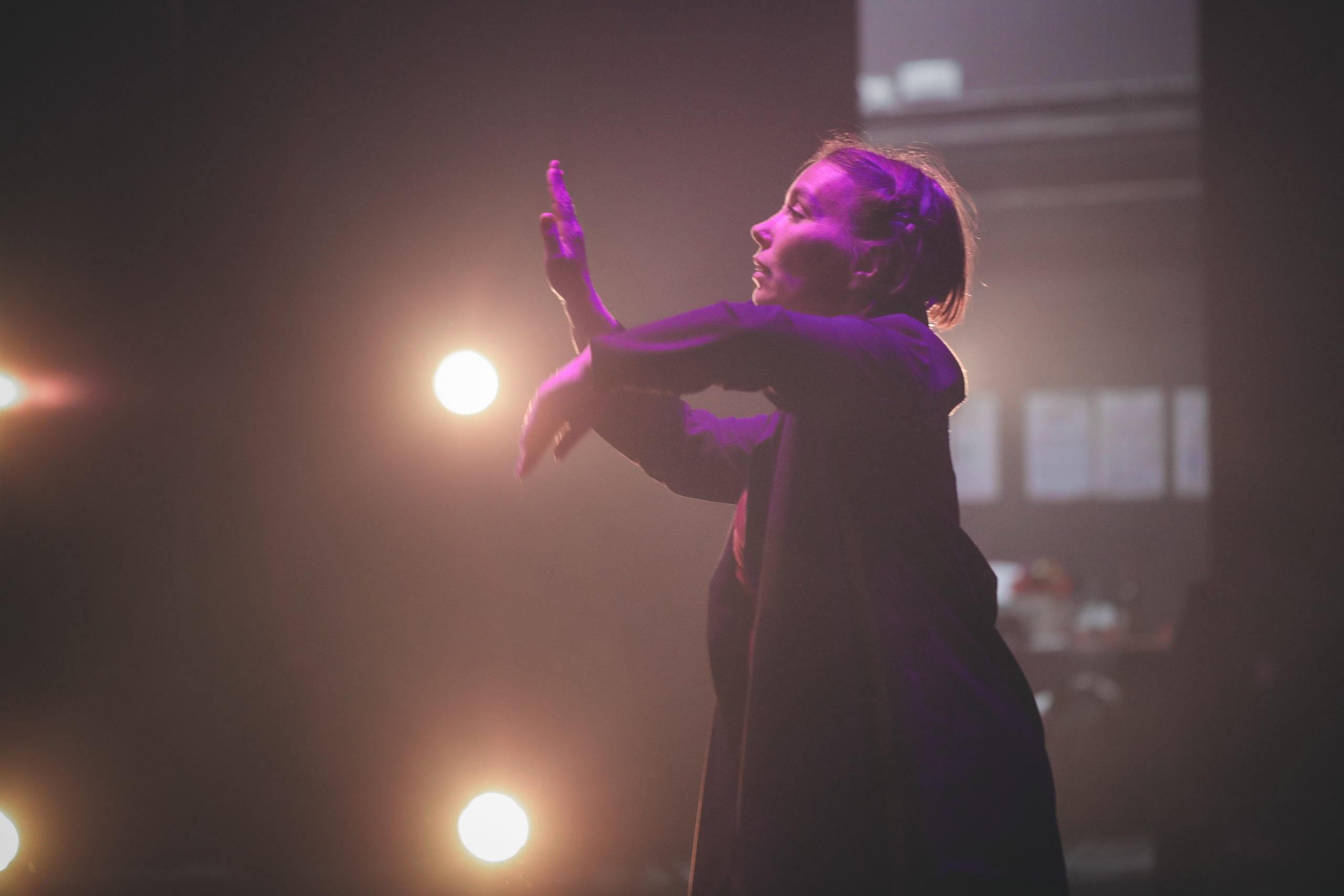 danseuse Klaus Cie en répétition